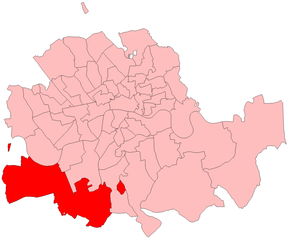 Wandsworth by-election, 1913 - Wandsworth in London 1885-1918