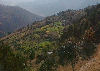 Wangsing Deurali Village development committee in Gandaki Zone, Nepal