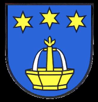 Niefern-Öschelbronn - Image: Wappen Niefern Oeschelbronn
