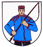 Coat of arms of the municipality of Roklum