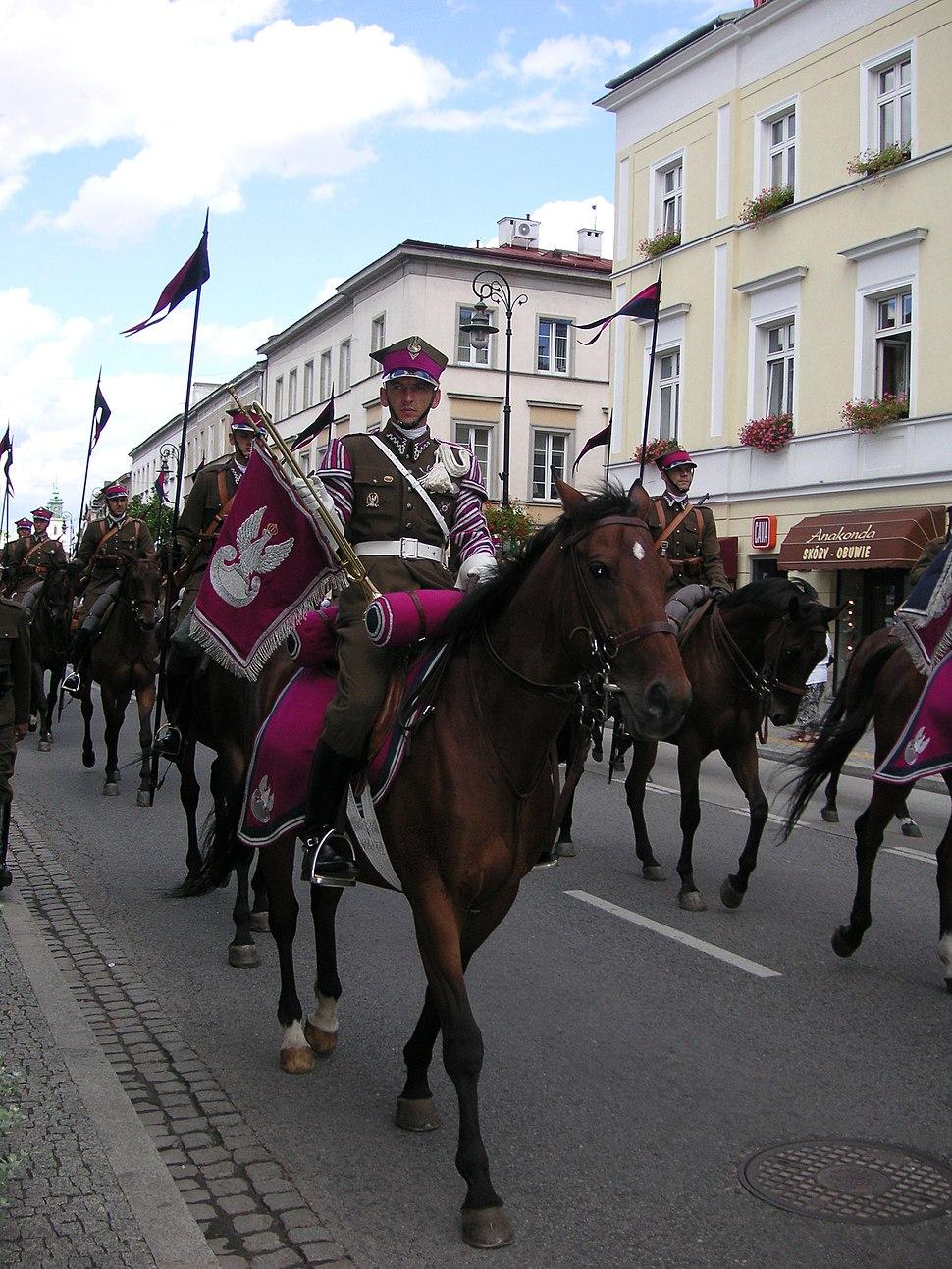 Warsaw Cavalry parade 2
