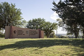 Roger Mills County, Oklahoma - Image: Washita battlefield national historic site
