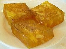 Water Chestnut Flour Cake