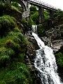 Waterfall in Glen Mooar - geograph.org.uk - 476298.jpg