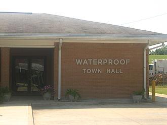 Waterproof, Louisiana - Waterproof Town Hall