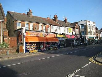 North Watford - Image: Watford, St Albans Road geograph.org.uk 981538