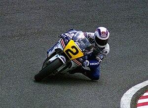 Wayne Gardner - Wayne Gardner at the 1989 Japanese GP