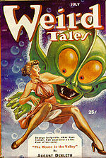 Weird Tales cover image for July 1953