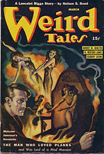 Weird Tales cover image for March-April 1941