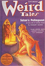 Weird Tales cover image for September 1937