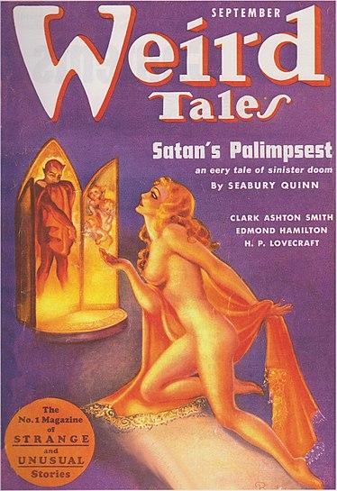 Weird Tales September 1937
