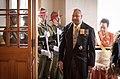 Welcome for HM King Tupou VI of the Kingdom of Tonga and HM Queen Nanasipau'u 03.jpg