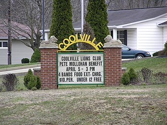Coolville, Ohio - Image: Welcome to Coolville
