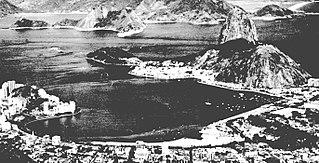 Vista parcial do litoral