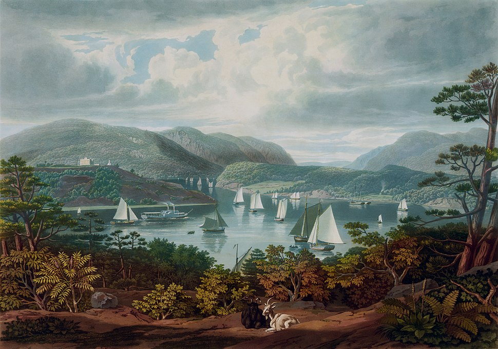 West Point, from Phillipstown, 1831