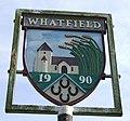 Whatfield village sign - geograph.org.uk - 588434.jpg