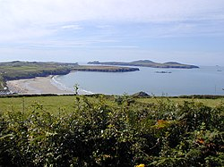 Whitesands Bay from north of Porth Lleuog.jpg