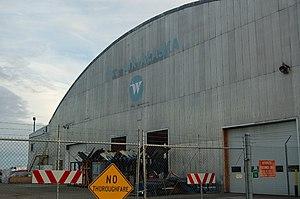 Wien Air Alaska - Former Wien Air Alaska hangar in Fairbanks, Alaska,  in 2006
