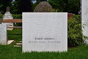 Robert Adrian - Grave of Robert Adrian