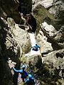 WikiProjekt Landstreicher Starzlachklamm Canyoning 10.jpg