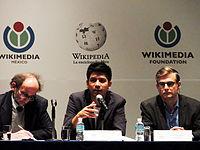 Wikimanía 2015 - Day 2 - Press Conference - LMM - México D.F. (13).jpg