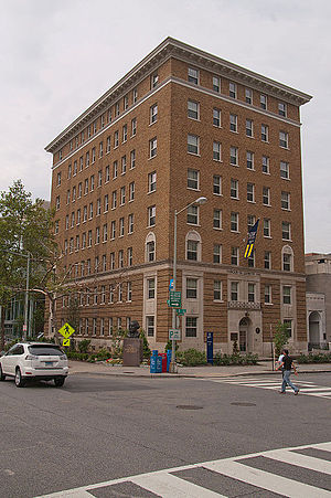 George Washington University residence halls - Image: Wikimania dc 13.07.2012 10 49 23