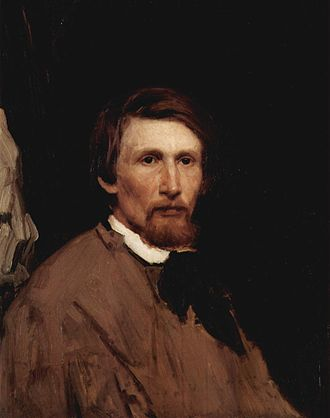 Viktor Vasnetsov - Self-portrait 1873