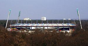 Wildparkstadion - Image: Wildparkstadion Karlsruhe 001