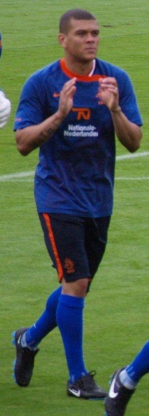 Wilfred Bouma - Bouma training with the Netherlands.