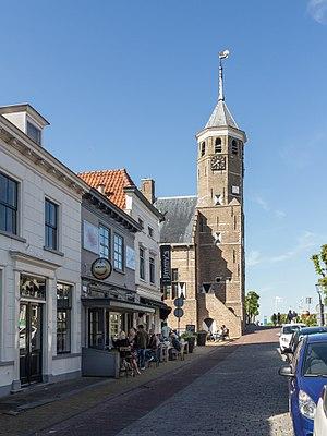 Willemstad, North Brabant - Image: Willemstad, het voormalige raadshuis in straatzicht RM38968 foto 7 2015 05 24 17.35