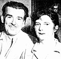 William Dobell with Margaret Olley, 1949.JPG