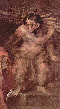 Caliban, par William Hogarth