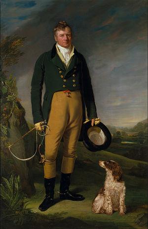 William Owen (painter) - Portrait of a man
