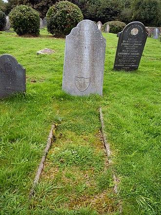 Bideford Higher Cemetery - Image: William Rogers DCM grave Bideford