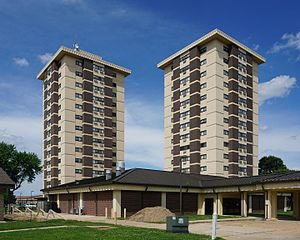 Poplar Bluff, Missouri - The tallest buildings in Poplar Bluff, Missouri; Wilson and Hillcrest Towers