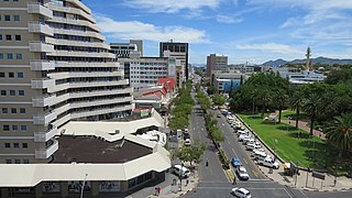 Windhoek Capital of Namibia