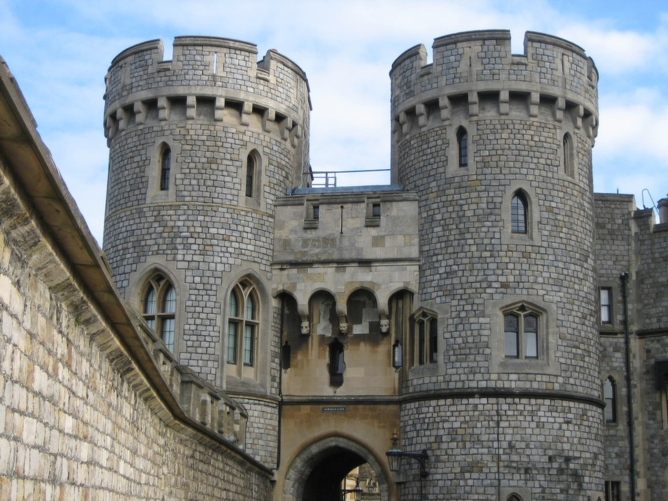 Windsor Castle Norman Gate