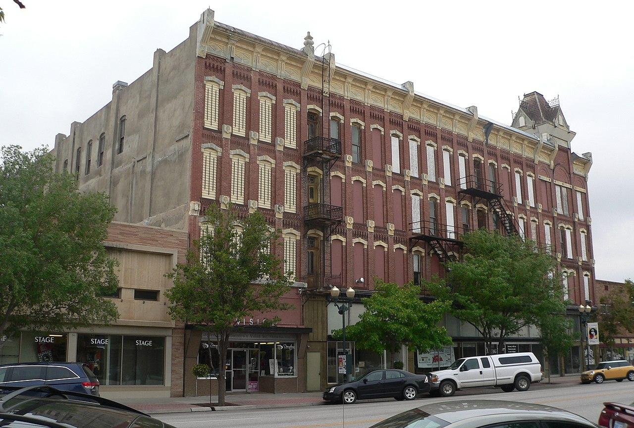 File Windsor Hotel Garden City Ks 3 Jpg Wikimedia