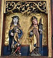 Winged altarpiece with the Virgin and Child and saints, Germany, 1520, Bode Museum, Berlin (1) (28403663569).jpg