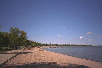 Falcon Beach - Winnipeg Beach, Manitoba, on Lake Winnipeg