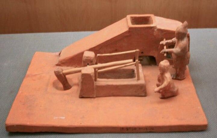 Winnowing machine and tilt hammer.JPG