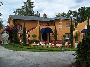 Albin Polasek House and Studio - Image: Winter Park Polasek Studio Florida 03