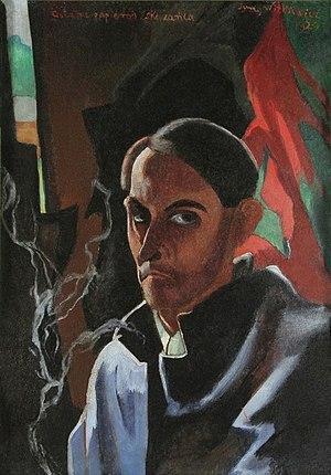 Stanisław Ignacy Witkiewicz - Self-portrait, 1924