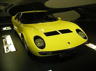 Lamborghini Miura - 1967 Miura P400