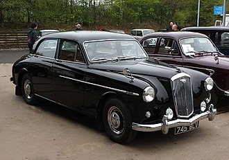 Wolseley 6/90 - Series III first registered March 1959