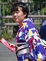 Woman outside Nijo Castle - Kyoto - Japan (47929410781).jpg
