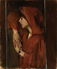 Woman with Red Hood