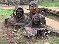 Wood stump carving of Cherokee Indians.jpg