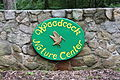 Woodcock Nature Center entry sign, Wilton CT.JPG