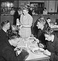 Woolmore Street Restaurant- Eating Out in Wartime London, 1942 D10673.jpg